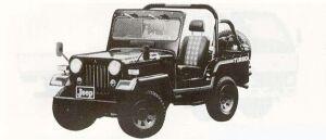Mitsubishi Jeep J53 2700 DIESEL TURBO 1990 г.