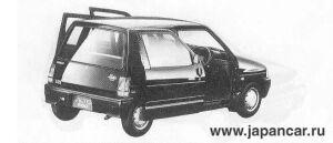 Suzuki Alto SLIDE SLIM PARKY-S 1990 г.