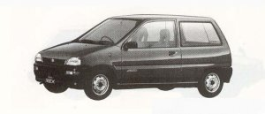 Subaru REX 4WD 3DOOR F 1990 г.
