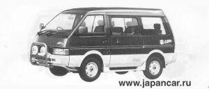 Nissan Vanette COACH 4WD KAPPA-II DIESEL TURBO 2000 1990 г.