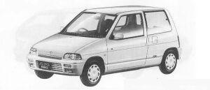 Suzuki Alto 3DOOR P2-S 1990 г.