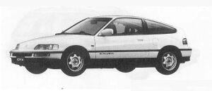 Honda CR-X 1.5X 1990 г.