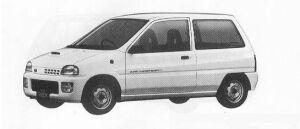 Subaru REX 3DOOR SEDAN V 1990 г.