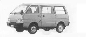 Nissan Vanette VAN 4WD MID ROOF 5DOOR 2000 DIESEL DX 1990 г.