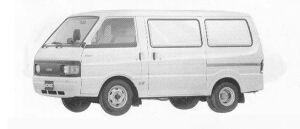 Mazda Bongo VAN WIDE LOW 2000DE 5DOOR DX 1990 г.
