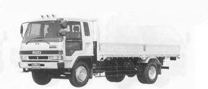Isuzu Forward 230PS INTERCOOLER TURBO 7.75T 1990 г.
