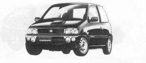Suzuki Cervo TWIN CAM TURBO SR-FOUR 1990 г.