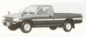Toyota Hilux LONG BODY SUPER DELUXE 1990 г.