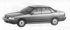 Isuzu Aska CX 2000 4WD 1990 г.