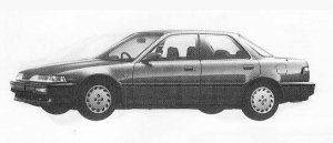 Honda Integra 4DOOR HARD TOP ZXI 1990 г.