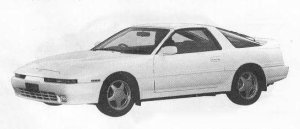 Toyota Supra TWIN TURBO WIDE BODY 1990 г.
