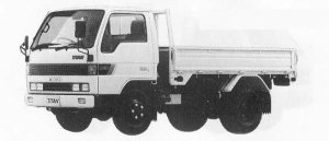 Mazda Titan 2T STANDARD 3500cc 4WD 1990 г.