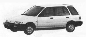 Honda Civic Shuttle 53U 1990 г.