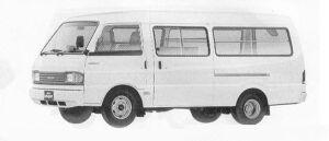 Mazda Bongo BRAWNY VAN WIDE LOW LONG BODY 2000 DX 1990 г.