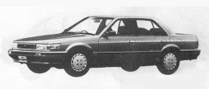 Nissan Bluebird 4DOOR 1800XE SEDAN 1990 г.