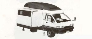 Toyota Townace CAMP 1990 г.