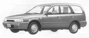 Nissan AD VAN 4DOOR 2WD 1500 VX 4AT 1990 г.