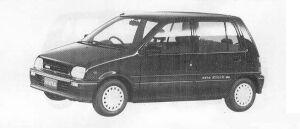 Daihatsu Mira 5DOOR 1990 г.