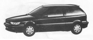 Mitsubishi Mirage 3DOOR 1500 SWIFT-X 1990 г.