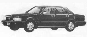 Nissan Cedric 4DOOR V30 VIP 1990 г.
