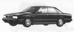 Nissan Gloria CIMA TYPE-I 1990 г.