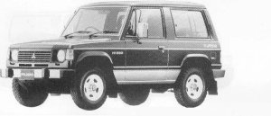 Mitsubishi Pajero METAL TOP 2500 DIESEL TURBO XL 1990 г.