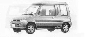 Mitsubishi Minica U2-4 1990 г.