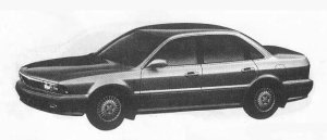 Mitsubishi Sigma 20E 1990 г.