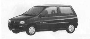 Subaru REX 3DOOR SEDAN AX-i ECVT 1990 г.
