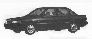 Toyota Sprinter SEDAN 1500SE G 1990 г.