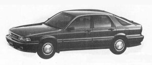 Mitsubishi Eterna 2.0DOHC ZX 1990 г.