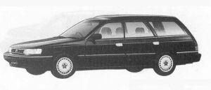 Subaru Legacy 4WD TOURING WAGON 1.8L Ti 1990 г.