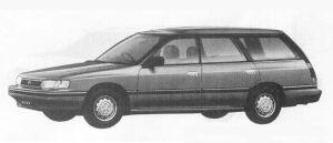 Subaru Legacy 4WD TOURING WAGON 1.8L Mi 1990 г.
