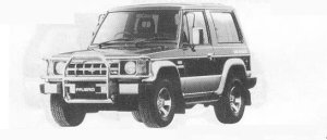 Mitsubishi Pajero WIDE METAL TOP WAGON V6 3000 SUPER XL-W 1990 г.