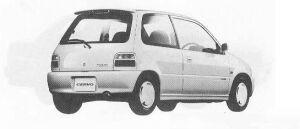 Suzuki Cervo S-TURBO 1990 г.