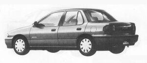 Isuzu Gemini SEDAN C/C-L 1990 г.