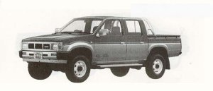 Nissan Datsun DOUBLE CAB 2700 DIESEL AX 1990 г.