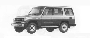 Toyota Land Cruiser Prado 70 EX5 1990 г.