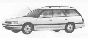 Subaru Legacy 4WD TOURING WAGON 2.0L TZ 1990 г.