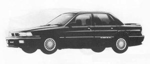Mitsubishi Galant 1.8DOHC VIENTO 1990 г.