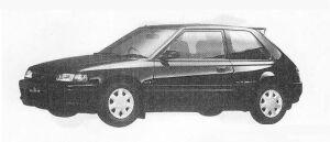 Mazda Familia 3DOOR HB  4WD 1800DOHC TURBO GT-X 1990 г.