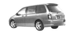 Mazda MPV Aeroremix (2.3L) 7-seaters, FF 2004 г.