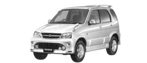 Daihatsu Terios CUSTOM MEMORIAL EDITION 2WD 2004 г.