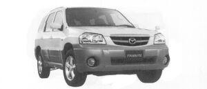 Mazda Tribute FB-X 4WD 2300 DOHC 2004 г.