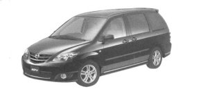 Mazda MPV VS (V6 3.0L) 7-seaters, FF 2004 г.