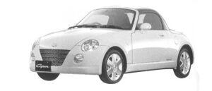 Daihatsu Copen Detachable Top 2WD 2004 г.