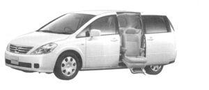 Nissan Presage Enchante (Second Slide rise Sheet) (2WD) 2004 г.