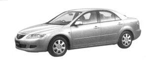 Mazda Atenza Sedan 20C 2004 г.