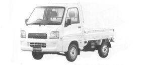 Subaru Sambar Truck TB 2004 г.
