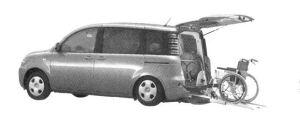 Toyota Sienta Welcab, Wheelchair Specificstion Type l 2004 г.